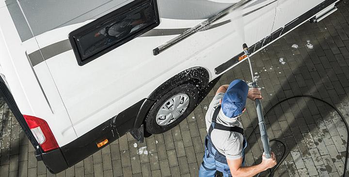 DTS + Mobile RV washing
